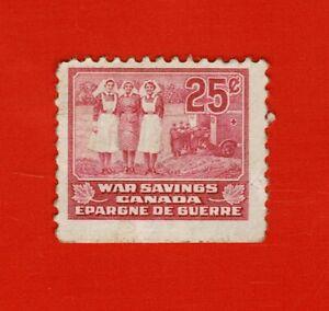Canada Revenue War Savings stamp van Dam FWS12