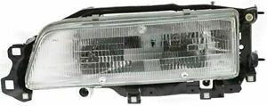 FITS: Toyota Camry, 1987, 1988, 1990, 1991, NEW - Left Driver Headlight