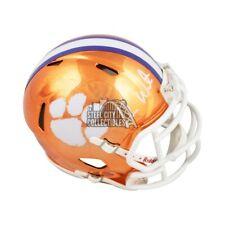 Deshaun Watson Autographed Clemson Chrome Mini Football Helmet - BAS COA