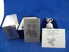 CROWN & ROSE 12 Days of Christmas Pewter Bell #2 Turtle Doves 1979 Free Shipping