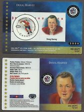 2000 Canada Post Doug Harvey 50th All-Star Game Laminated Stamp Card