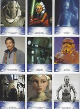 Star Wars FAN DAYS 2011 complete set of 17 cards, 2 promos, ticket & ad sheet