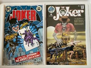 JOKER 1& 2 - 2021 - BATMAN 251 & 227 Homage Variant by NEAL ADAMS