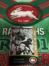 2006 Real Insurance Pride Of The League Card No 27 Clive Churchill South Sydney