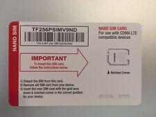 5 - NET10 VERIZON 4G LTE NANO SIM CARD