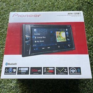 Pioneer AVH120BT 6.2 Inch Double Din DVD/MP3/CD Player (BOX DAMAGE)