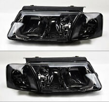 VW Passat 98-00 B5 Euro Smoke Headlights w/ Corner Lights Pair RH LH