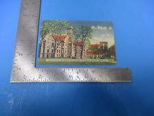 Vintage 1944 Horology Building and Bradley Polytechnic Institute Post Card PC79