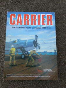 CARRIER The Southwest Pacific Campaign 1942-43 -Victor Games 30033 1990