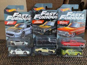 Hot Wheels Fast & Furious 2019 Walmart set of 6 - Impala Grand National RX-7