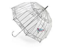Lulu Guinness par Fulton Cage d'oiseau parapluie - Cage d'oiseau