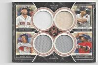 Topps Triple Threads 2018 Boston Red Sox Quad Relic Patch Primary Pieces