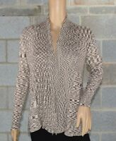 Apt. 9 Women's Long Sleeve Brown Open Front Cardigan Sweater Size Small