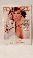 Penthouse Pet of the Year 1979 Dominique Maure handsigniert R-Card Intl. 1996