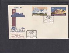 Malta 1983 Europa-templo, Fort Primer Día Cubierta Fdc