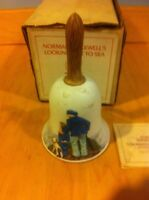 River Shore Norman Rockwell Ltd. Edition Bell LOOKING OUT TO SEA~1981 COA~ NIB *