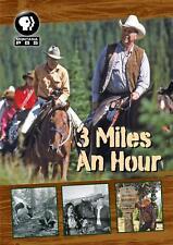 3 Miles An Hour DVD Montana PBS John Twiggs RARE Travel Video