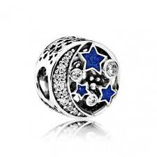 Authentic Pandora Silver Vintage Night Sky Charm