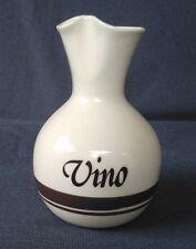 Vintage McCoy Pottery Vino Wine Carafe Decanter Pitcher Brown Bands