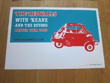 REDWALLS Keane 2005 concert poster blue  #ed signed