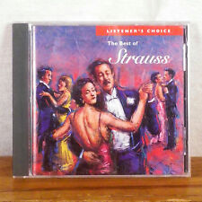 Listener's Choice Vol 7 The Best of Strauss CD Album FREE SHIPPING