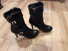 Plus size womens boots mens high heels TV tg