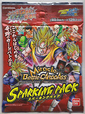 Miracle Battle Carddass Dragon Ball Sparking Pack Pre-Constructed 12 Cards DBC01