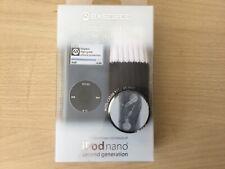 Funda de silicona cubierta de piel clara Apple Ipod Nano 2G 2nd generación Brazalete Y Correa Nueva