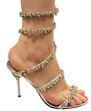 Donna Velenta Strappy Heels Women's Leather