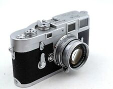 Leica M3 Double Stroke Body w/ Summicron 5cm f/2 50mm Lens + Case, Zeiss finder