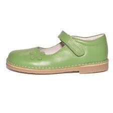 Petasil Girls Carmen Green Leather Shoes UK 12.5 EU 31 US 13 RRP £48.00