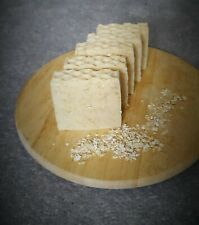 Handmade and 100% Natural soap bars, Honey,Oatmeal &Turmeric