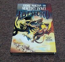 Andre Norton/ Mercedes Lackey series: HALFBLOOD CHRONICLE  Elvenblood  hc 1st ed