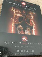 Street Fighter Assassin's Fist STEELBOOK (Blu-ray UK) REGION B