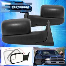 1994-1997 Dodge Ram Truck 1500 2500 3500 Flip Up Extendable Power Tow Mirrors