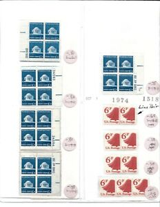 Mint USPS Postage - Mixed! 60 of the 10 Cent & 9 of the 6.3 Cent Stamps  - MNH