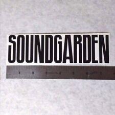 SOUNDGARDEN Vinyl DECAL STICKER BLK/WHT/RED Hard Rock BAND Logo Window Cornell