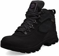 Timberland Men's Anti-Fatigue Hiking  Leather Mt. Maddsen Boot, Black, 7.5 Wide