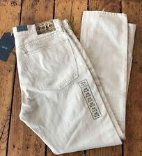 POLO RL Slim Fit 381 Fit Bone Beige Jeans Rugged Ralph Lauren 35x30 New $95