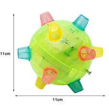 Jumping Flashing Light Up Bouncing Vibrating Sound Music Toy Jumping Ball  LZV$m