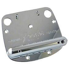 Genuine Fender Mustang Dynamic Guitar Tremolo Vibrato Bridge Tailpiece - Chrome