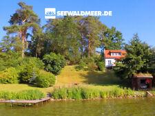 Urlaub am Pinnower See Mecklenburgische Seenplatte Ferienhaus mit Boot Schwerin
