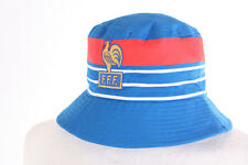 FRANCE EURO 84 1984 PLATINI RETRO BOB BEANIE FOOTBALL FAN HAT CHAPEAU LARGE 59cm