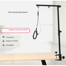 Pet Grooming Table Arm with Clamp, Dog Grooming Tools Holder Adjustable Loop and