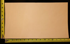"""16"""" x 9"""" Vegetable Tanned Cowhide 2 to 3 oz. Tooling Leather Piece, 1st. Qlty"""