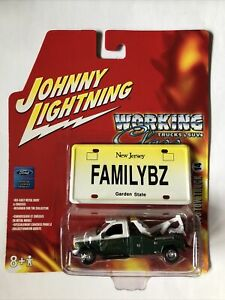 JOHNNY LIGHTNING WORKING CLASS 1999 FORD F-450 TOW TRUCK - NEW JERSEY - 12-3