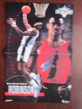 1993 NBA Jam Sesson Promo Poster David Robinson Shaq ONeil 11 x 17 Excellent
