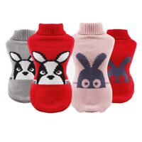 Autumn/Winter Pet Clothes For Small Dogs Knitted Puppy Cat Dog Jumper Sweater