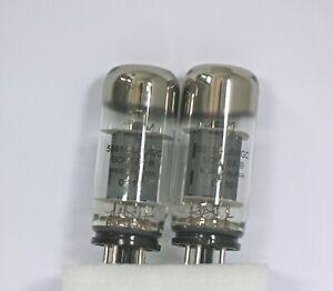 Hickok Tested Used Pair Sovtek 5881 6L6WGC Power Tubes