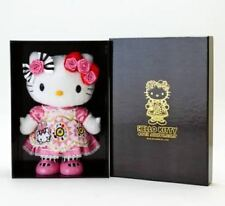 "2014 Sanrio Hello Kitty Alice 40th Anniversary Plush Doll Toy 14"" W/T Box Pink-2"